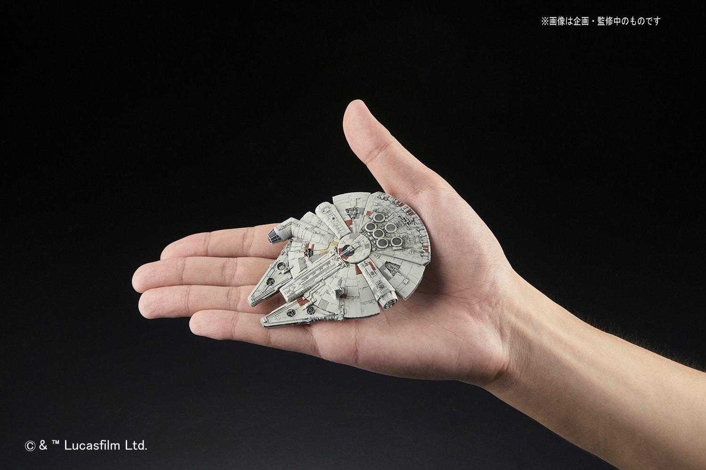 Resultado de imagen de millennium falcon bandai 006