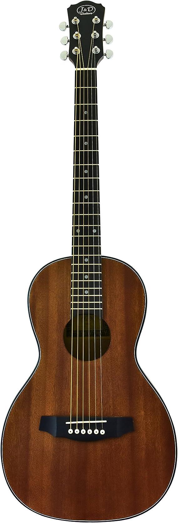 CNZ Audio Acoustic Parlor Body Guitar