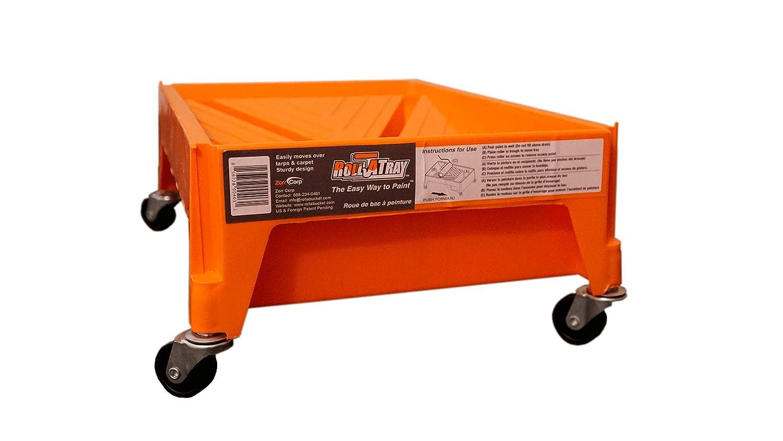 Zorr Corp RTP-411 Roll A Tray, Orange