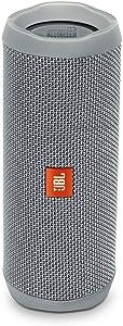 JBL Flip 4 Waterproof Portable Bluetooth Speaker - Grey