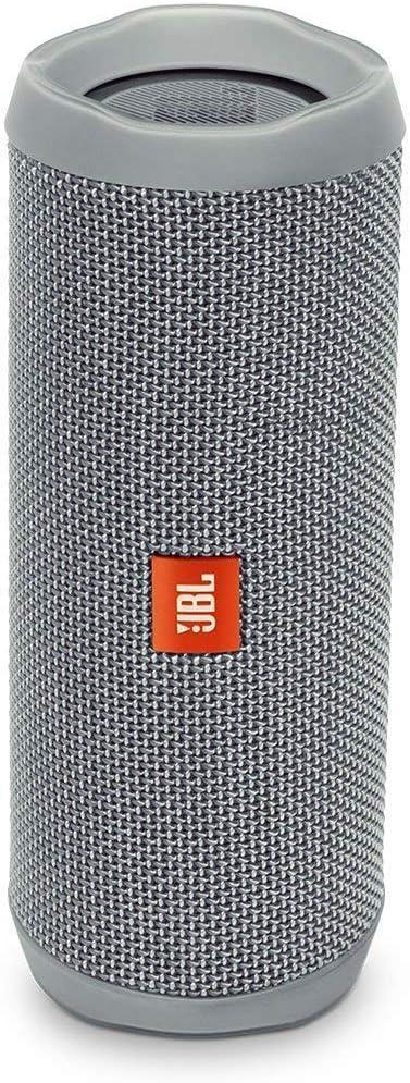 Jbl Flip 4 Bluetooth Box In Grau Wasserdichter Tragbarer Lautsprecher Mit Freisprechfunktion Sprachassistent Bis Zu 12 Stunden Wireless Streaming Mit Nur Einer Akku Ladung Audio Hifi
