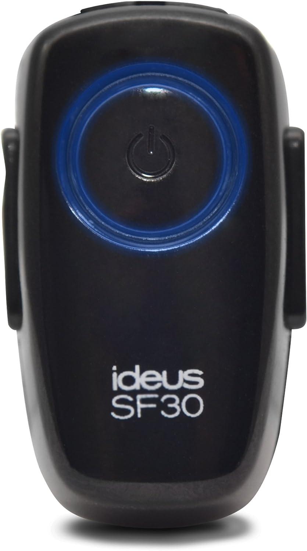 Ideus SF30 - Manos libres Bluetooth para móvil, negro
