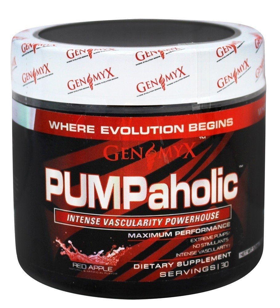 Genomyx PUMPaholic Red Apple – 30 Servings