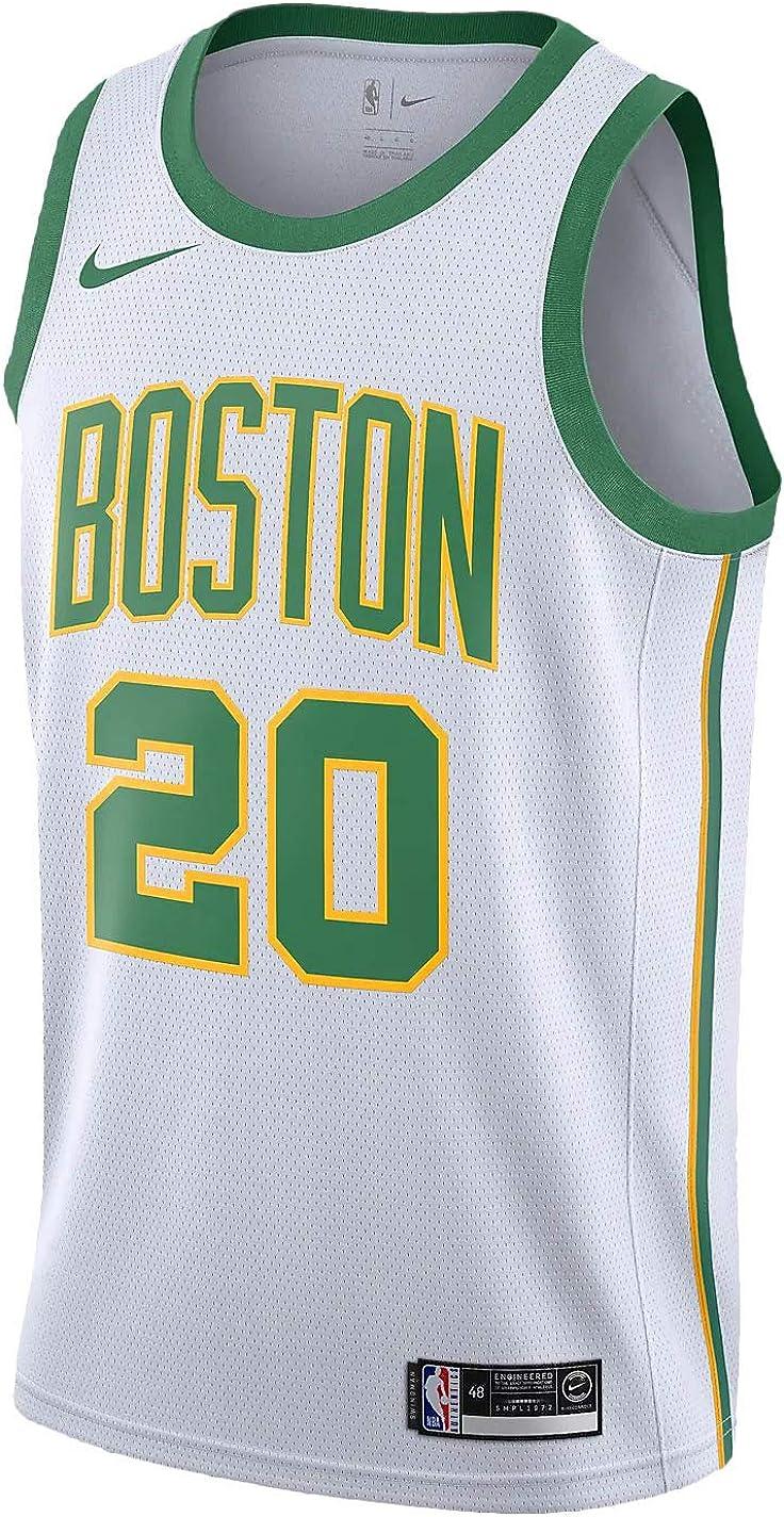 Nike Bos NBA City Edition Swingman Jersey Mens Aj4596-104