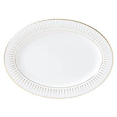 Lenox 875889 Golden Waterfall Oval Platter
