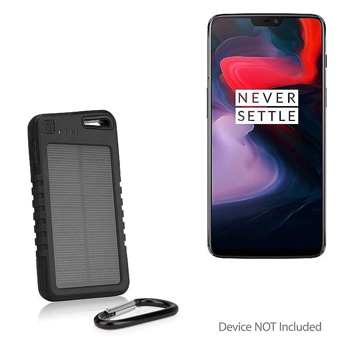 official photos 6a8a6 c8acb Amazon.com: BoxWave OnePlus 6 Battery, [Solar Rejuva PowerPack ...