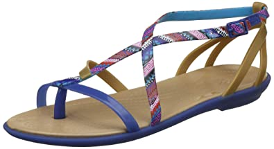 df2550bf704 crocs Women s Isabella Gladiator Graphic Sandal  Buy Online at Low Prices  in India - Amazon.in