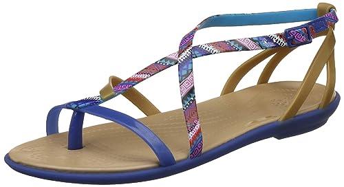 Crocs Isabella Strappy Weiß Crocs Damen Sandalen Verkaufen