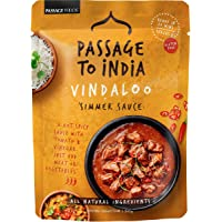 Passage Foods Passage to India Vindaloo Simmer Sauce 375g, 375 g, Vindaloo