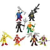 Fisher Price Imaginext DC Superfriends Superhero Showdown 8 Figure Bundle [Amazon Exclusive]