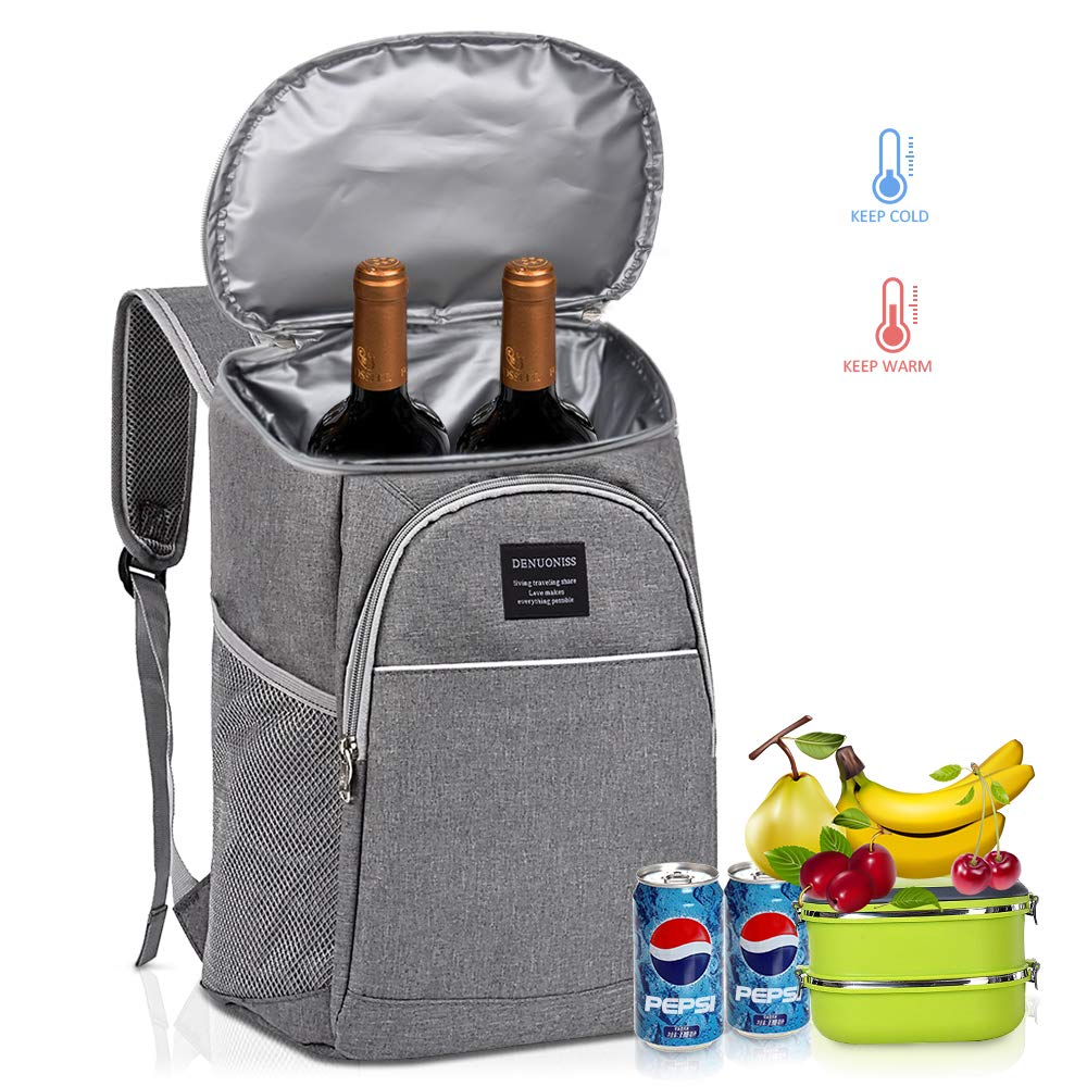 Portable insulation Backpack bag Picnic Backpack Beer Cooler Bag Leak Proof  for Family Outdoor Camping Thermal ,Picnic, Hiking, Beach, Park by BICYGO
