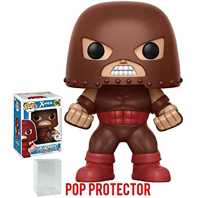 Funko Pop! Marvel X-men Juggernaut #196 (Walgreens Exclusive) Vinyl Figure (Bundled with Pop BOX PROTECTOR CASE): Toys & Games