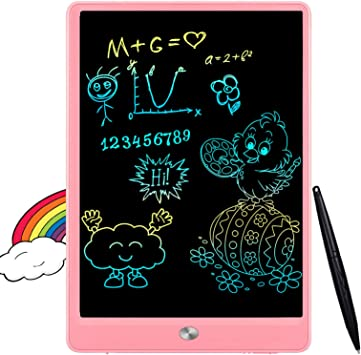 Black Mobestech LCD Writing Tablet 10inch Digital Electronic Handwriting Pad Drawing Board Draft Pads with Stylus for Kids Children Toddlers