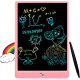 FLUESTON LCD Writing Tablet 10 Inch Drawing Pad, Colorful Screen Doodle and Scribbler Boards for Kids, Traveling and…
