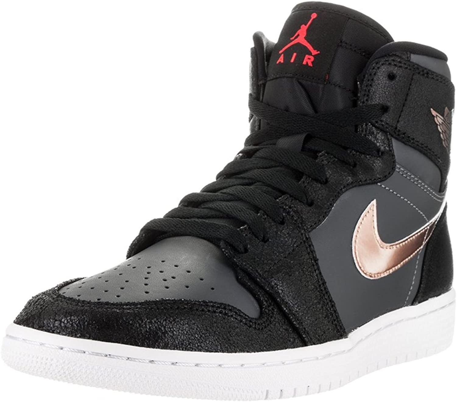Noreste profundizar transportar  Nike Air Jordan 1 Retro High Broze Medal LTD Sneaker Current collection 2016  black/dark gray/bronze/white, EU Shoe Size:EUR 47.5, Color:black,  Basketball - Amazon Canada