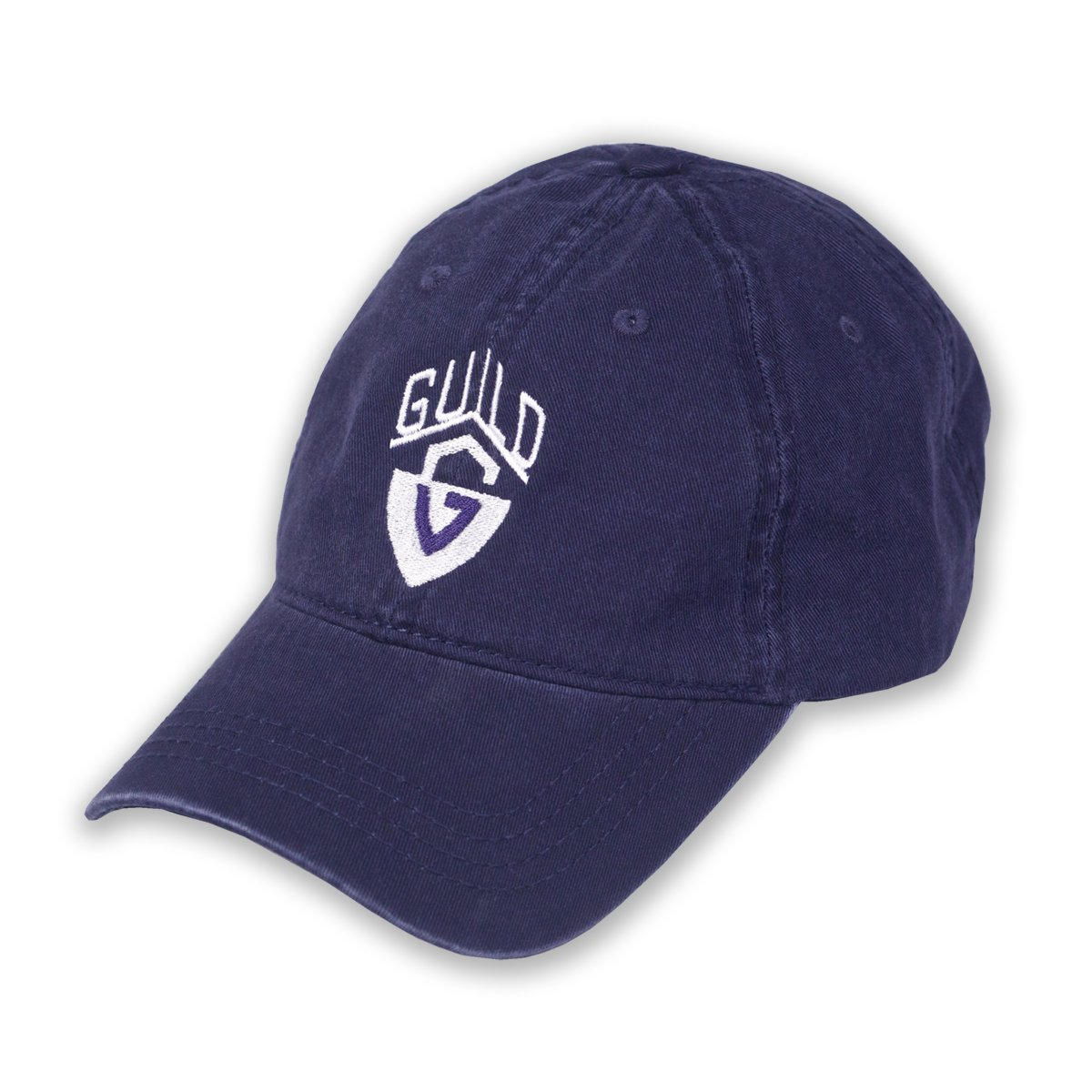 Navy Guild Guitars Relaxed Fit Baseball Hat