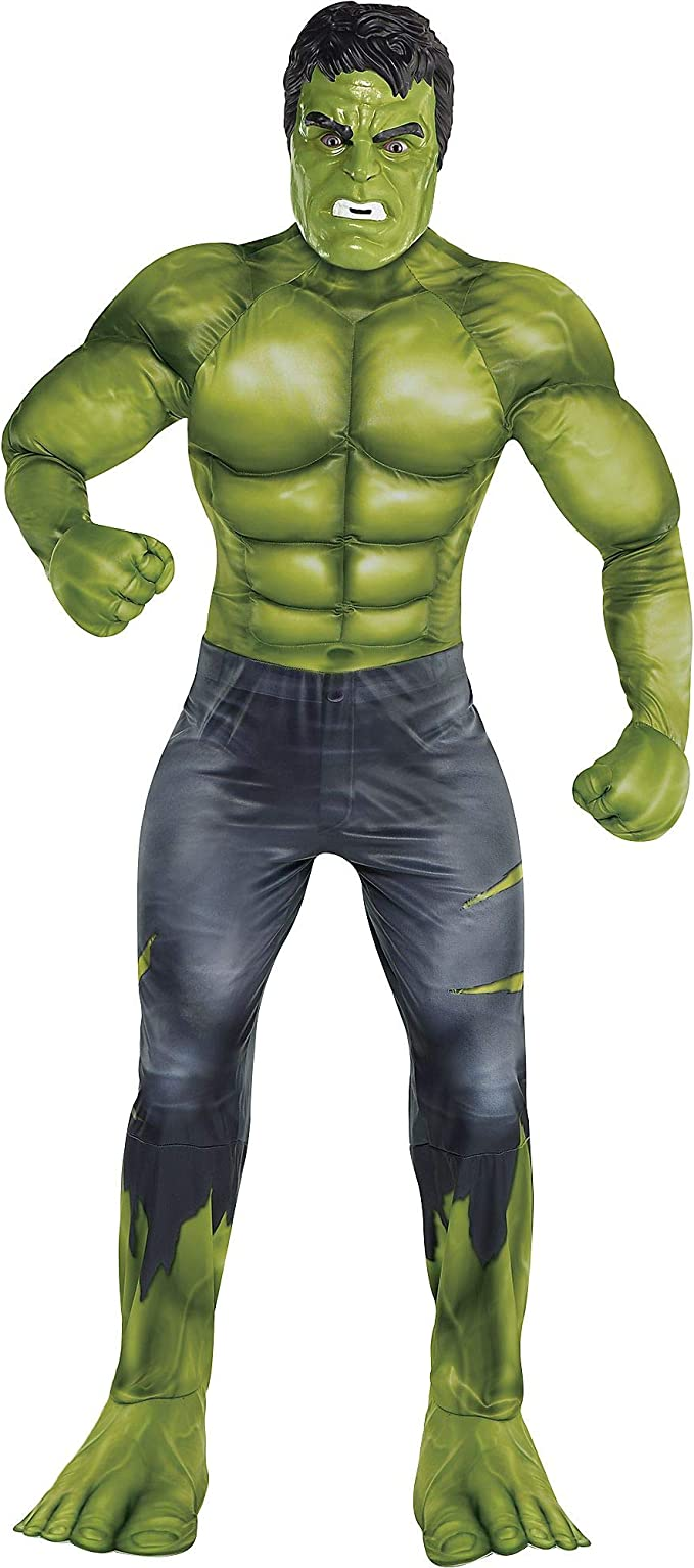Party City Avengers: Endgame Hulk Muscle Disfraz para Adultos ...
