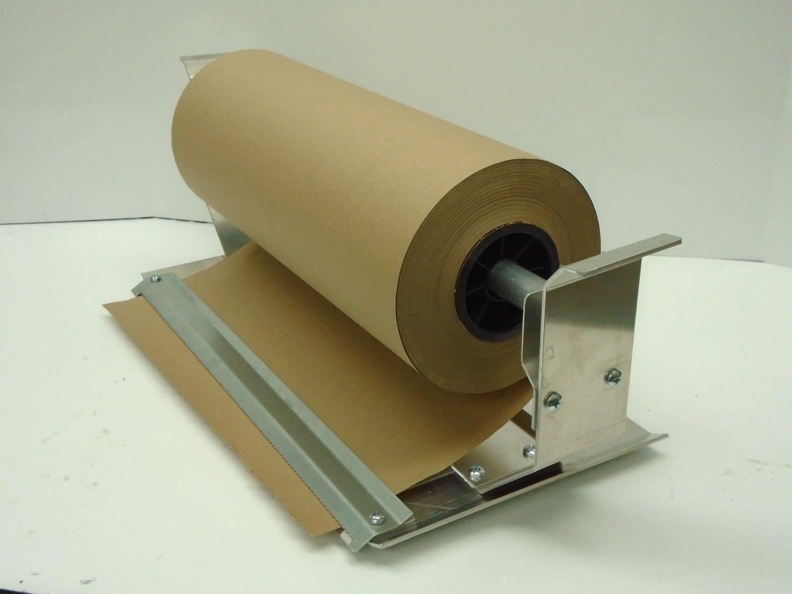 Paper Cutter Roll Dispenser Econoline 18 inches table mount Kraft paper Duralov by Duralov (Image #4)