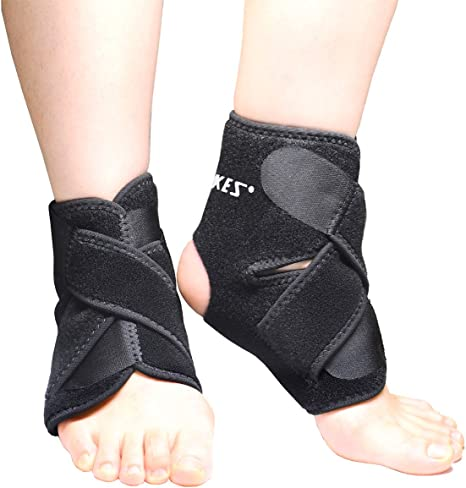 Ankle Brace Foot Support Strap for Archilles Tendonitis Football Running Pair