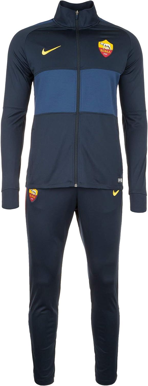 AS Roma Chándal Institucional Obsidian 2019/20, Nike Hombre, Azul ...