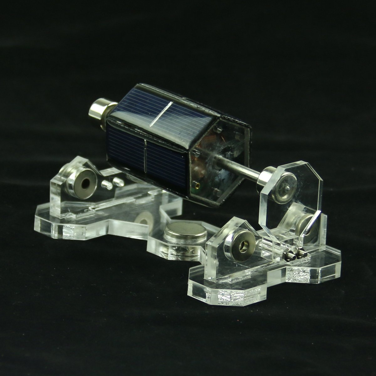 lieomo 5.5'' Hand Made Mendocino Solar Motor Magnetic Levitating Solar Motor Model