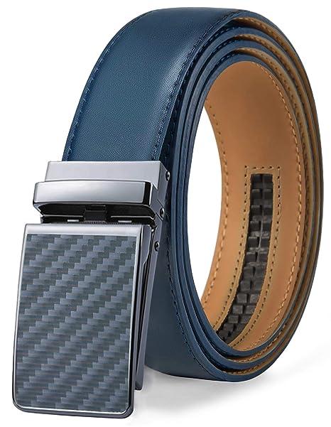 Amazon.com: Cinturón para hombre, diseño de Bulliant, correa ...