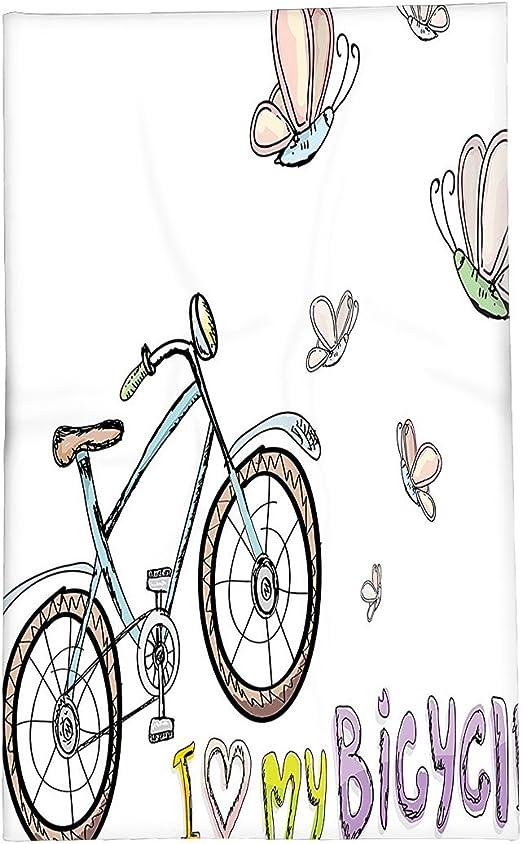 interestlee manta de forro polar bicicleta Decor Collection ...