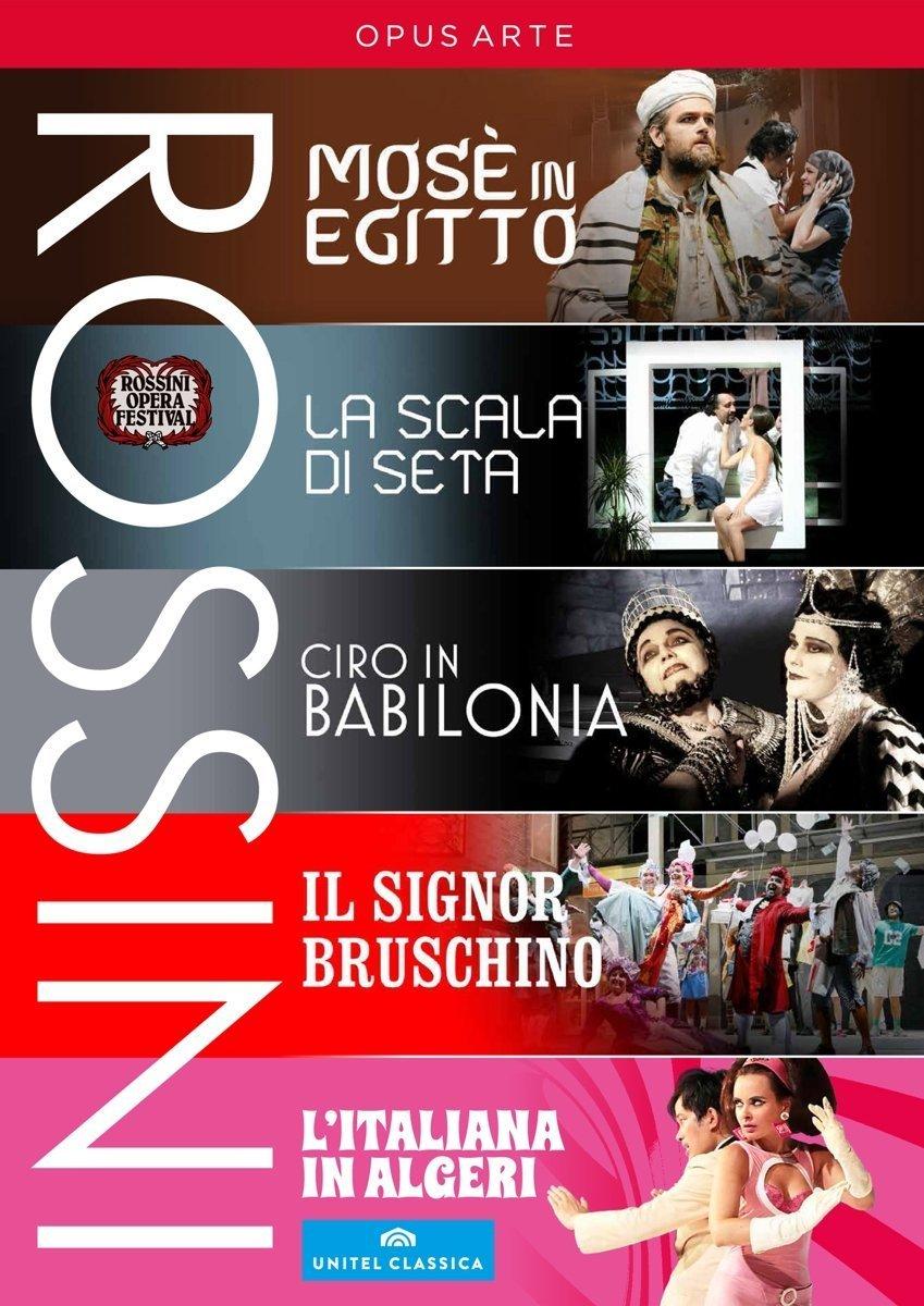 Rossini Festival Collection [DVD] B01FSGKK5U