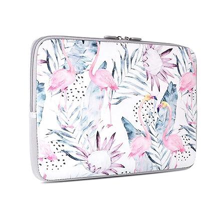 036e8b1c1fb6 Laptop Sleeve, iCasso 13-Inch Stylish Soft Neoprene Sleeve Case Cover Bag  for MacBook Air/Pro/Retina 13 Inch/iPad Pro, Flamingo