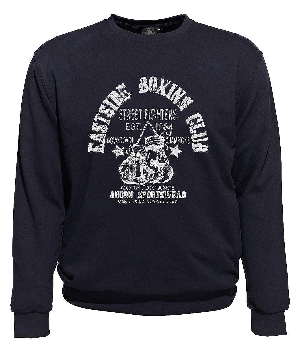 Ahorn Sportswear Übergrößen   Sweatshirt Boxing Club Navy 3XL-10XL