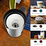 Milk Frother, Betitay Electric Hot Milk Heater for