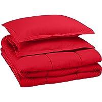 AmazonBasics Kid's Comforter Set - Soft, Easy-Wash Microfiber
