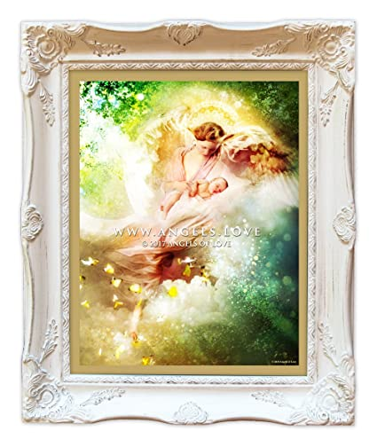 Amazon.com: Guardian Angel, Angel, Angels, Baby, Framed Print ...