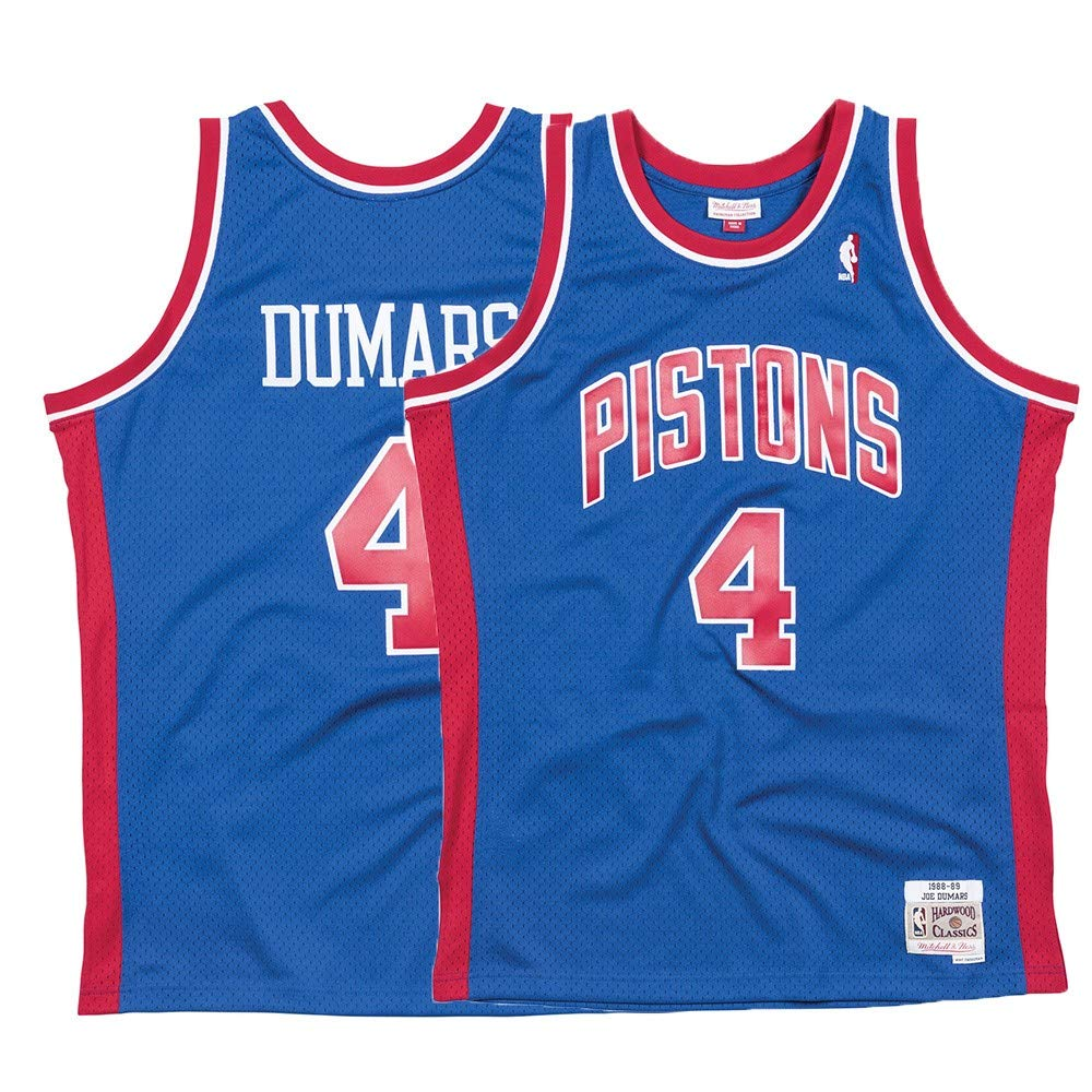 Mitchell & Ness Detroit Pistons Joe Dumars Swingman Jersey NBA Throwbackブルー Small  B07CJQF5CV