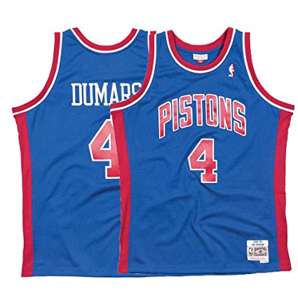 578c13d2856 Mitchell   Ness Detroit Pistons Joe Dumars Swingman Jersey NBA Throwback  Blue (Small)
