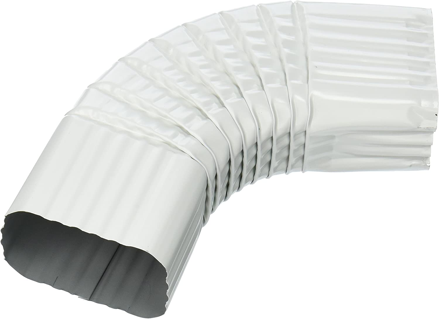White Two-by-Three Pack of 2 AMERIMAX HOME PRODUCTS 27065 B Elbow