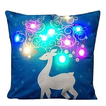 Amazon.com: G-Brisa Colorful LED Luces Navidad cuadrado ...