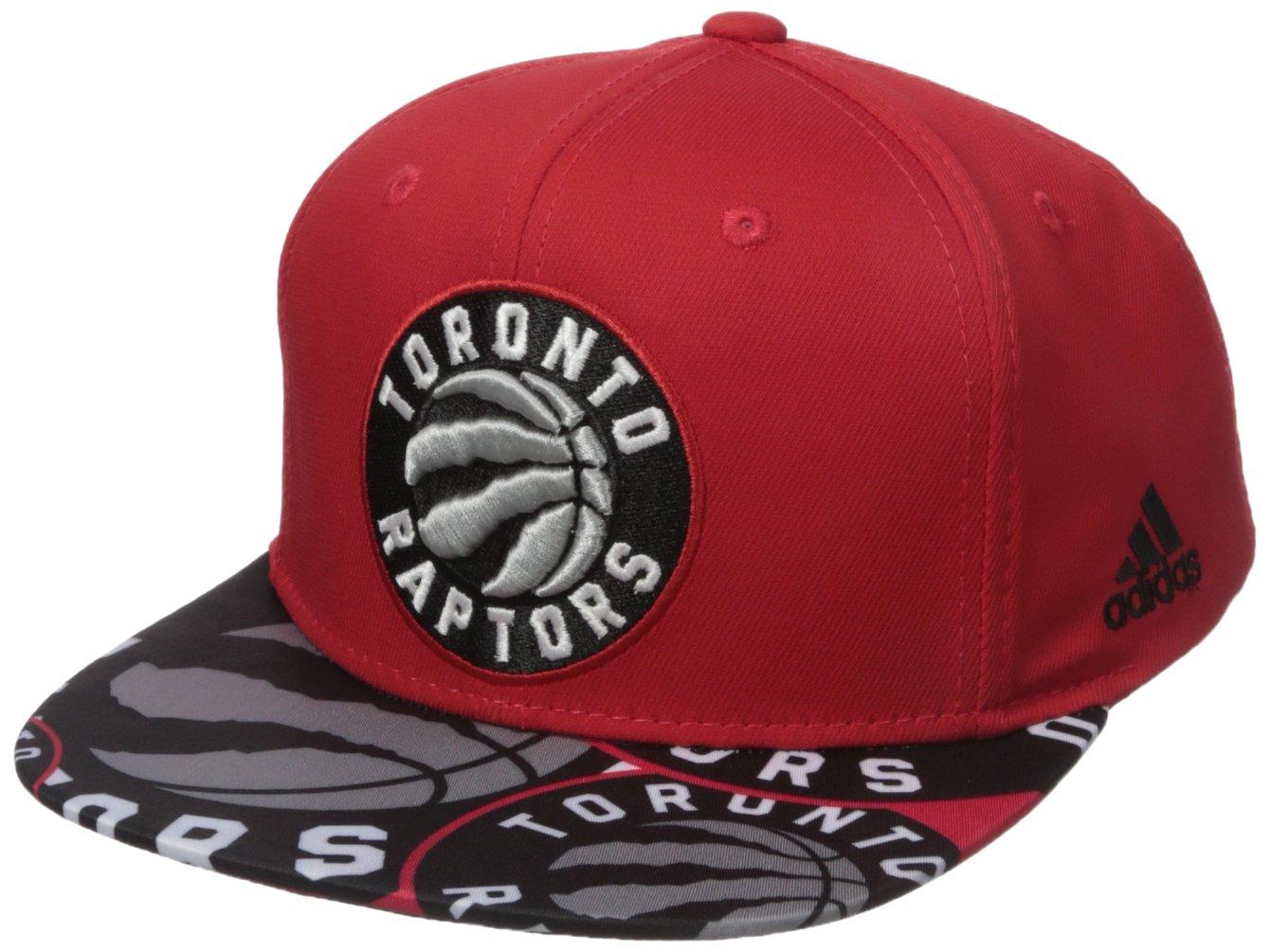 NBA Toronto Raptors de los hombres cola Sweep - plana ala Snapback  Sombrero bb1f4746b56