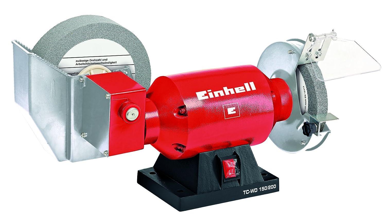 Einhell - TH-WD 150/200 - Esmeriladora mixta seco-hú medo Nassschleifscheiben-Ø200 mm