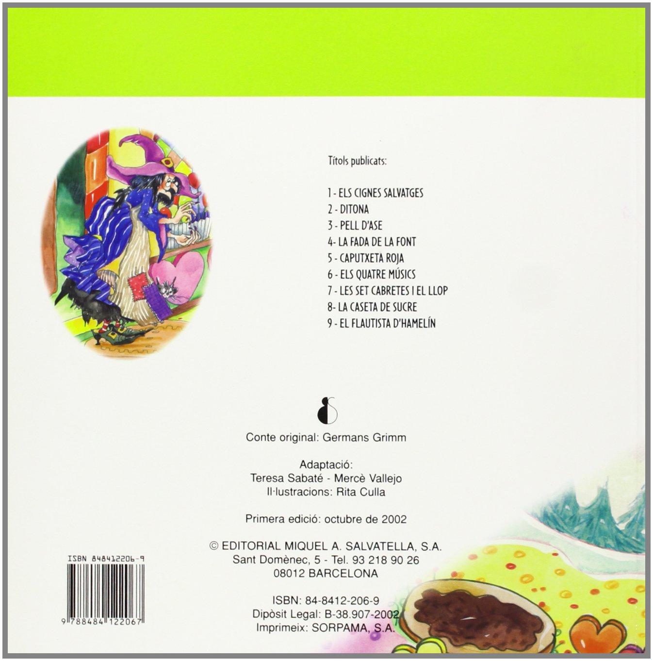 La caseta de sucre: Clàssic 8 (Clàssics): Amazon.es: Teresa Sabaté Rodié: Libros