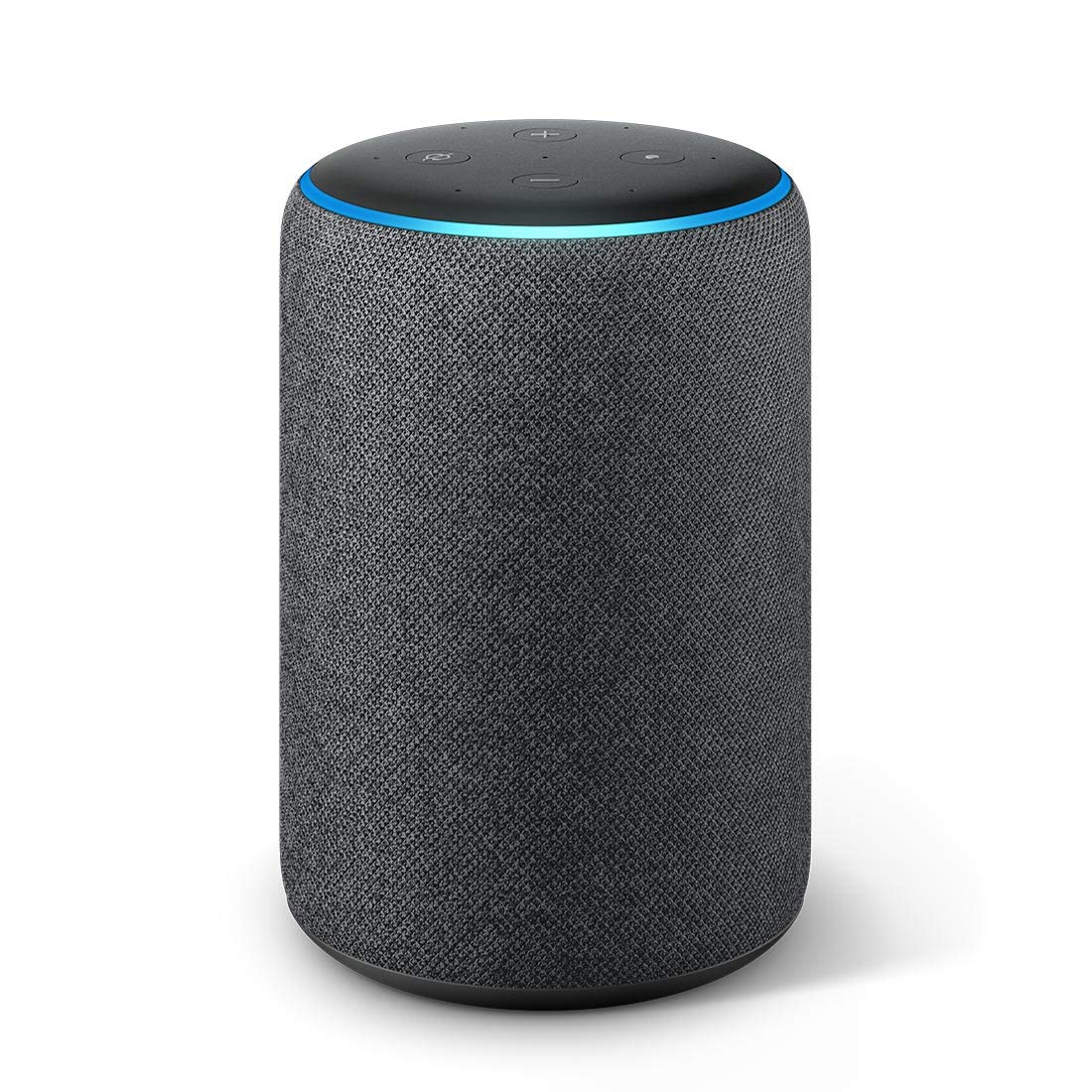 New Echo Plus (2nd gen) – Premium sound with a built-in smart home hub-Black