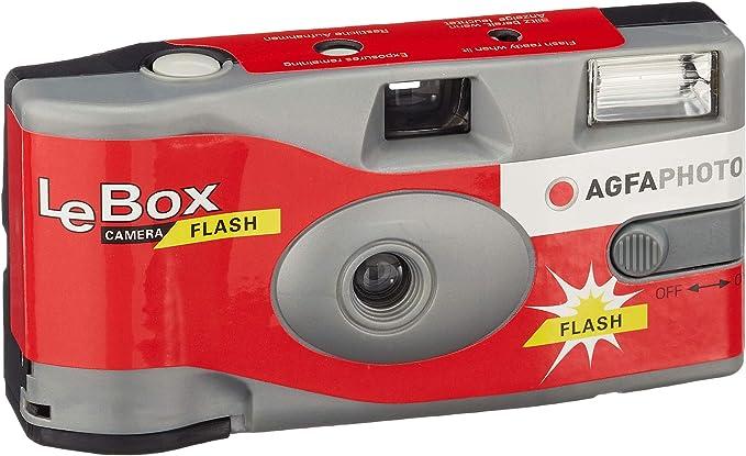 Agfa Lebox 400 27 Flash Einwegkamera Kamera
