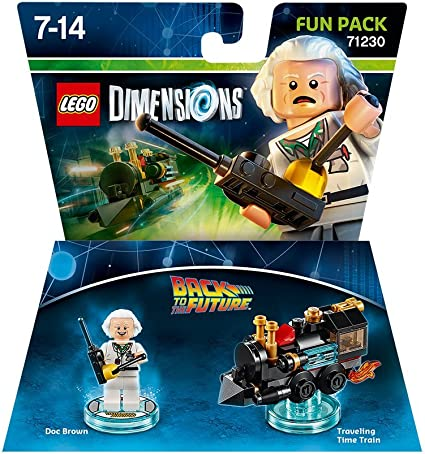 LEGO Dimensions - Back To The Future, Doc Brown: Amazon.es ...