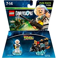 LEGO Dimensions Back To The Future Doc Brown Pack TTL