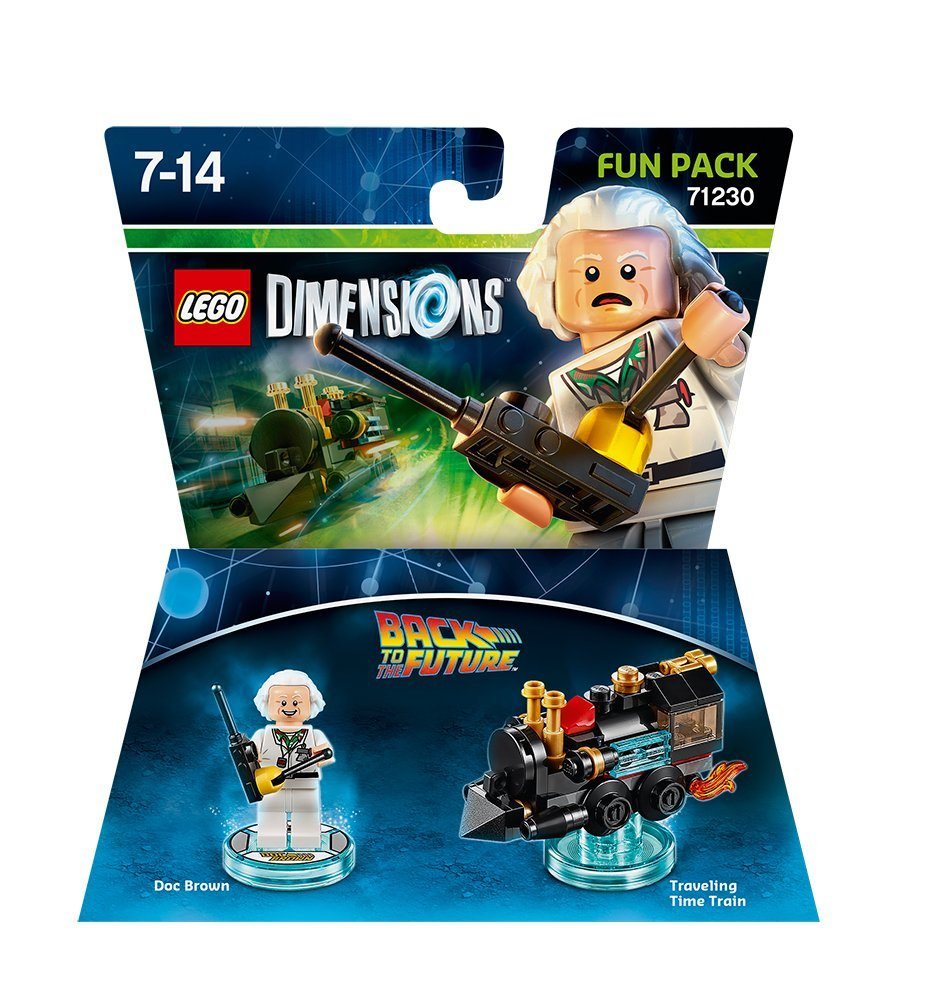LEGO Dimensions Doc Brown Fun Pack Back to the Future 71230