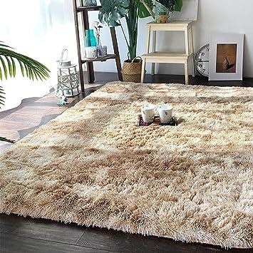 Amazon.de: CarPET Teppiche Wohnzimmer Motley Tie Dye Farbverlauf ...
