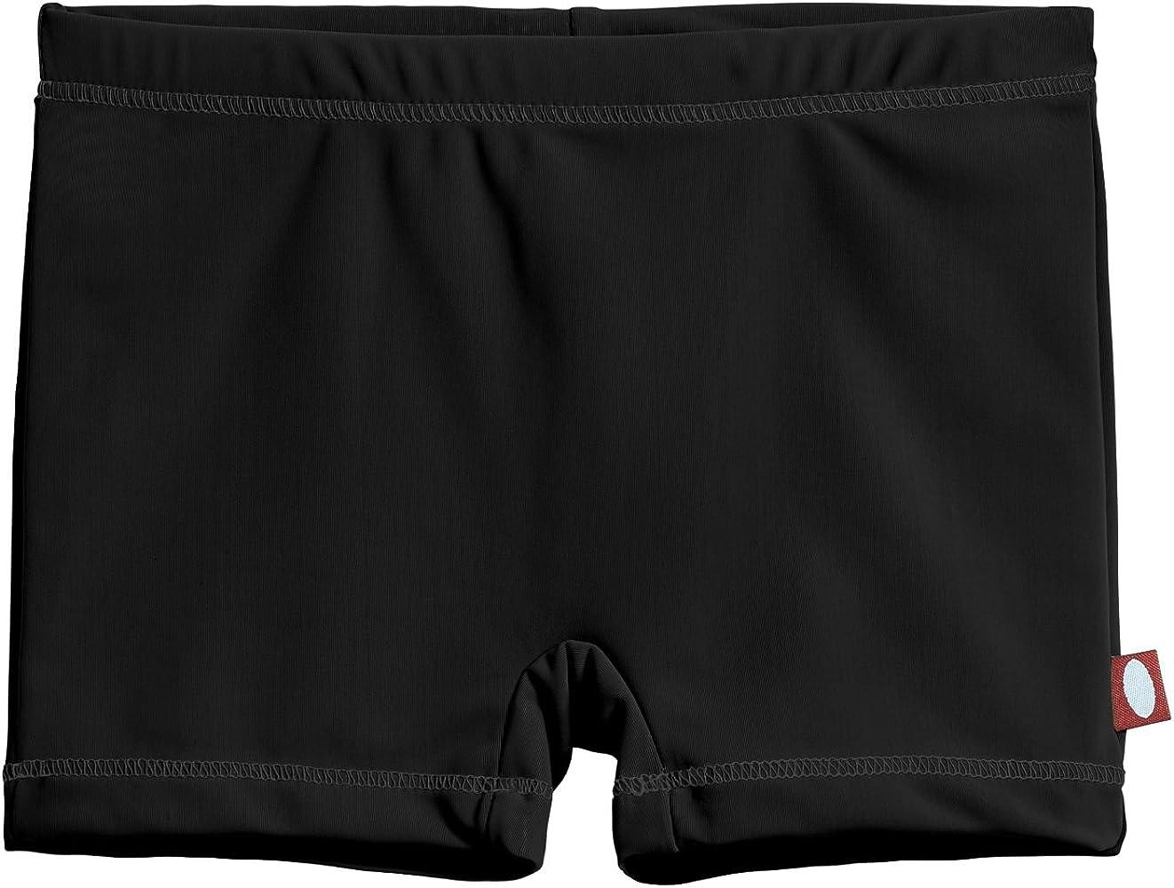 184ab67fbd City Threads Little Girls' Swimming Suit Bottom Boy Short, Black MS, ...
