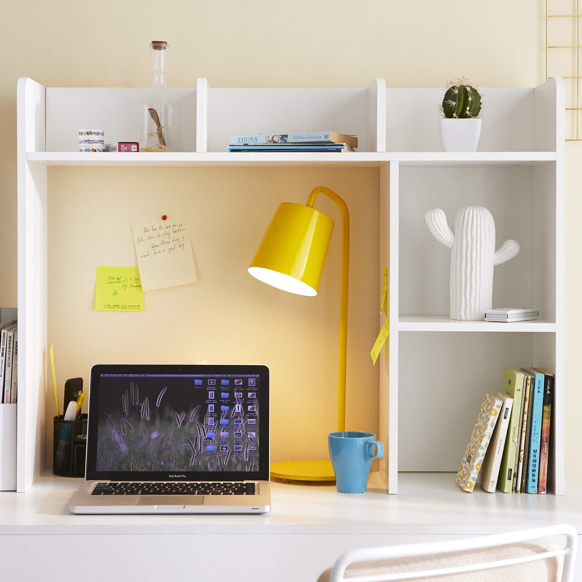 DormCo Classic Desk Bookshelf - White by DormCo (Image #2)