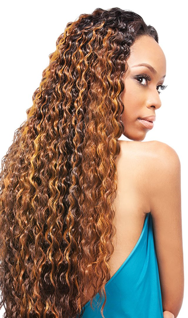 Amazon Outre Quick Weave Half Wig Giselle Color Dr27144