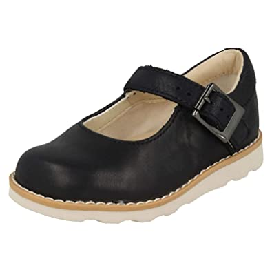71579082707 Clarks Girls   Crown Honor Loafers  Amazon.co.uk  Shoes   Bags